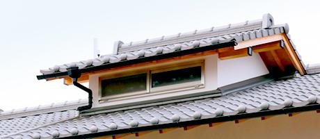 暮らしやすさへのこだわり~越屋根の家~