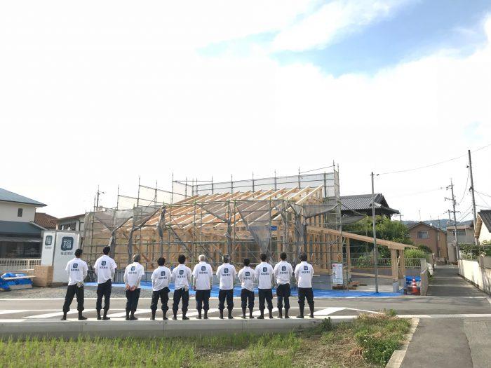 【終了】大工仕事見学会~中区高屋「高屋の家」~