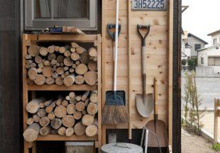 庭仕事の道具もかっこよく