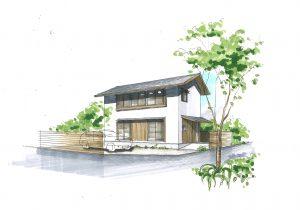 完成見学会「二階リビングの家」~心地良い風を感じながら 時を過ごす。~